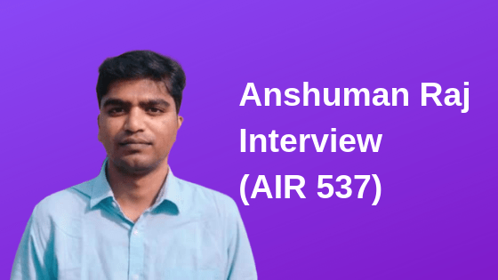 Anshuman Raj interview