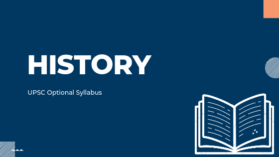 HISTORY syllabus for UPSC