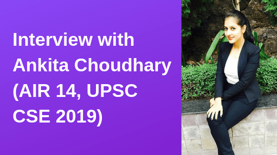 Interview with Ankita Choudhary
