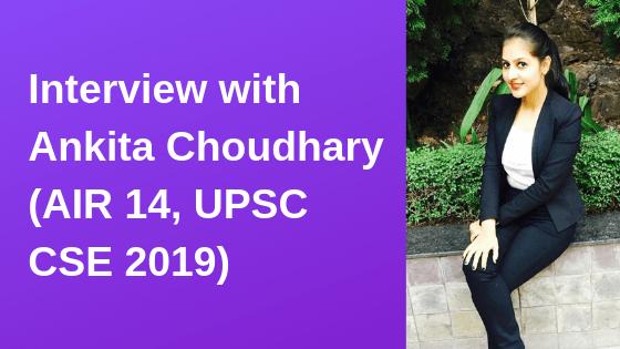 Interview with Ankita Choudhary