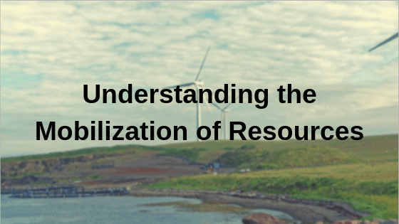 Mobilization of Resources