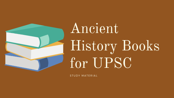 ancient history books for upsc
