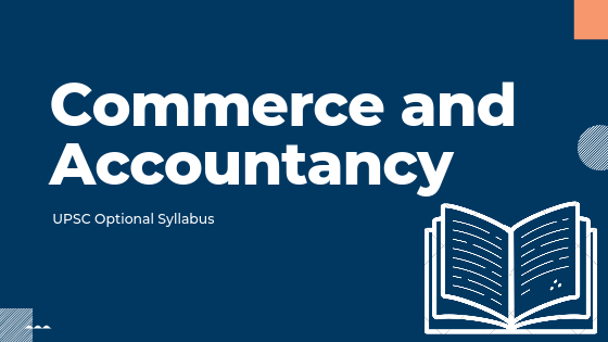 Commerce and Accountancy for upsc