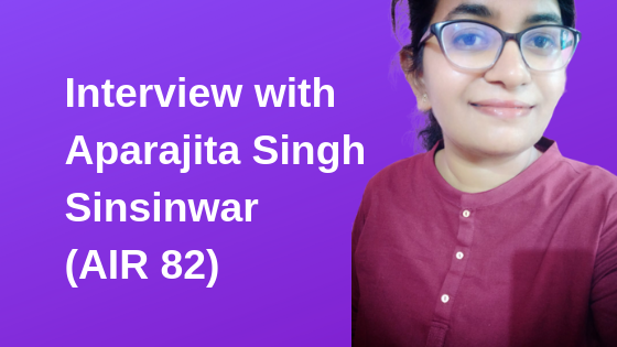 Interview with Aparajita Singh Sinsinwar