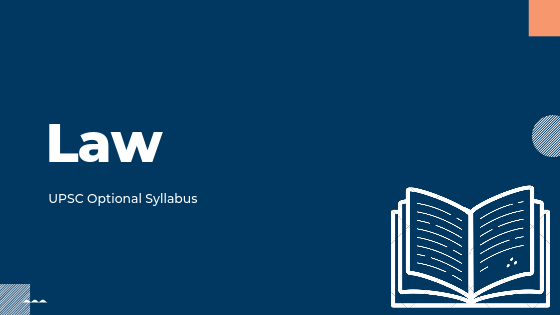 Law syllabus for upsc