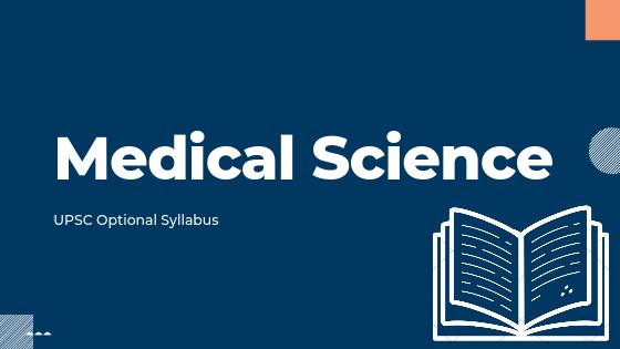 Medical Science syllabus for upsc