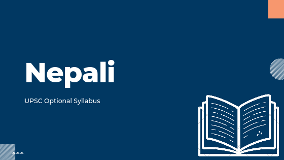 Nepali syllabus for upsc