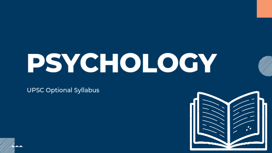 PSYCHOLOGY syllabus for upsc