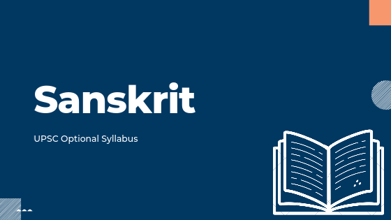 Sanskrit syllabus for upsc