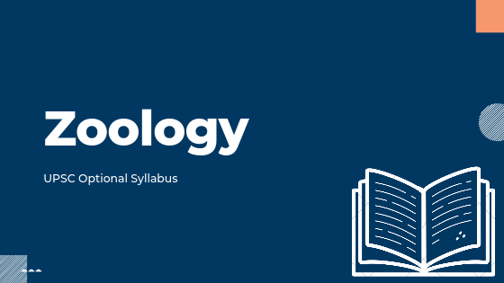 Zoology syllabus for upsc