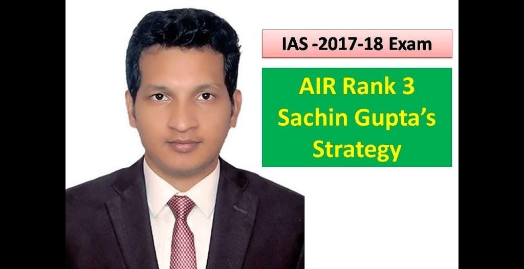 IAS Sachin Gupta Biography
